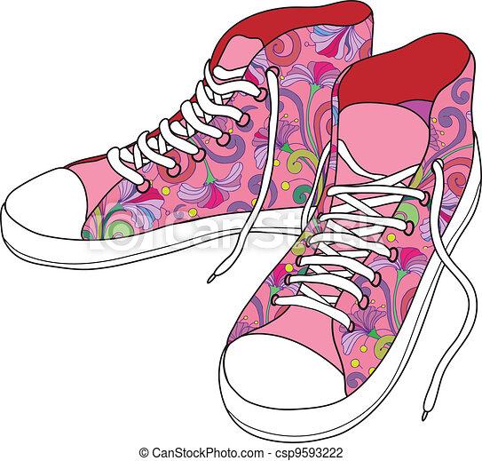shoes., tornaterem - csp9593222