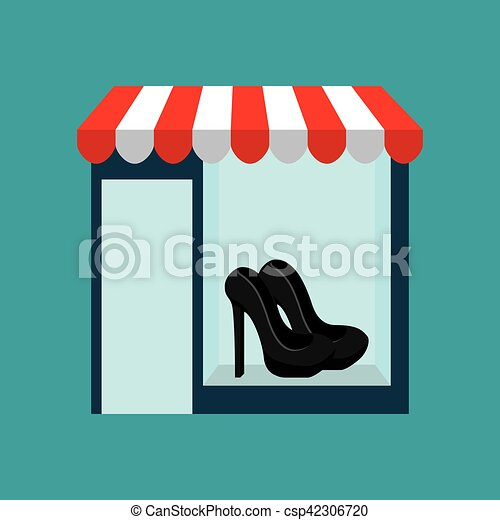 shoes woman buys gifts - csp42306720