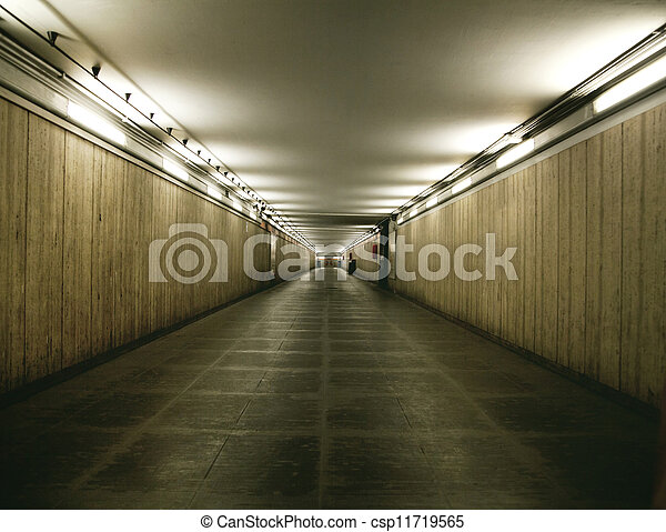 Shoot of basement interior in the building - csp11719565
