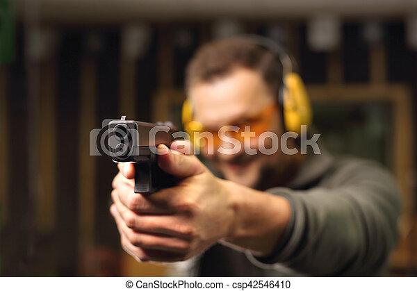 Shooting range - csp42546410