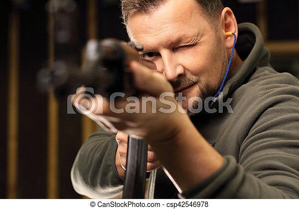 Shooting range - csp42546978