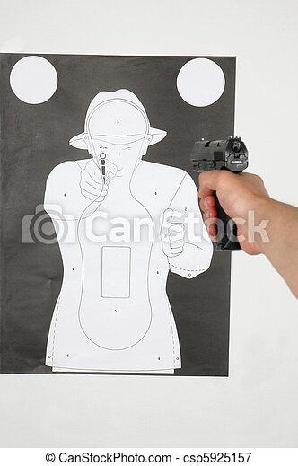 Shooting range - csp5925157
