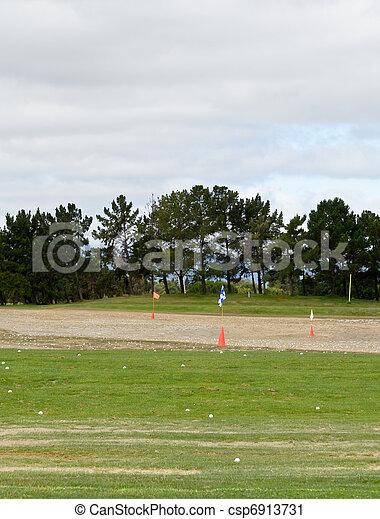 shooting range - csp6913731