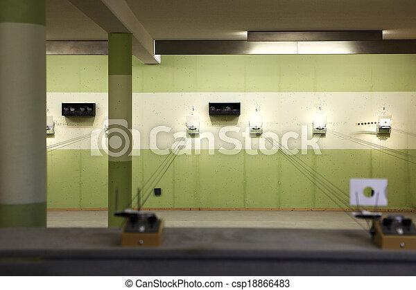 Shooting range - csp18866483