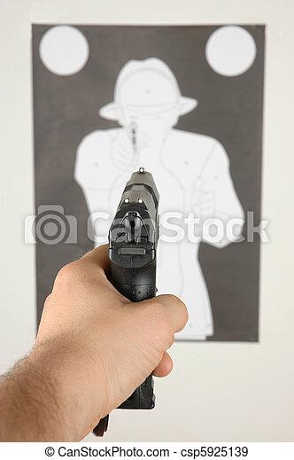 Shooting range - csp5925139