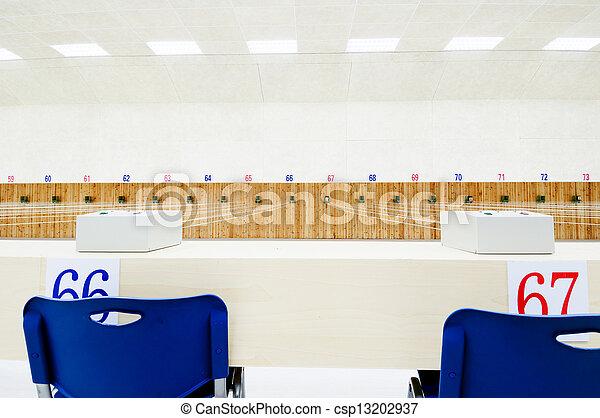 Shooting range - csp13202937