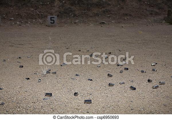 Shooting range - csp6950693