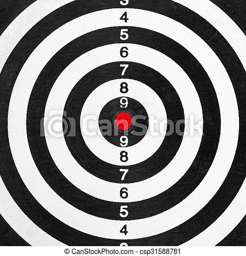 Shooting range target - csp31588781