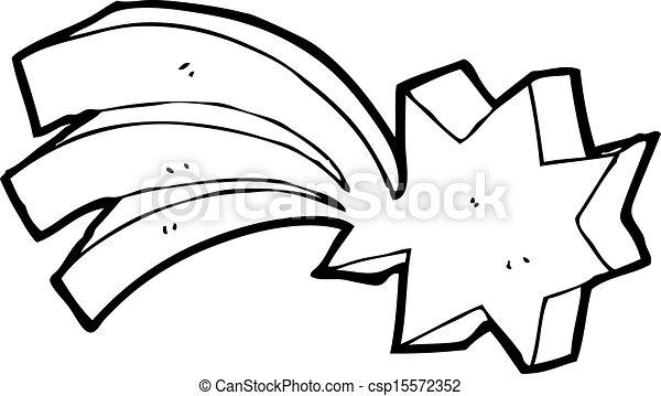 Shooting Star Symbol Cartoon