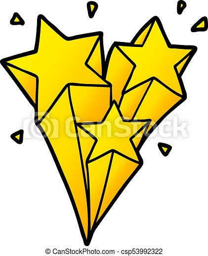 shooting stars cartoon vector illustration search clipart rh canstockphoto com shooting star clipart images shooting star clipart images
