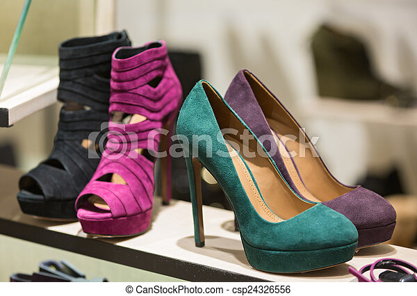 Shop bags and shoes - csp24326556