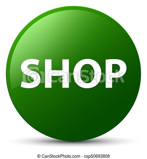 Shop green round button - csp50693808