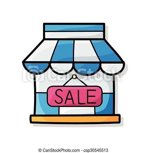 shop house doodle vector clip art search illustration drawings rh canstockphoto com shop victoriously shop victoriously