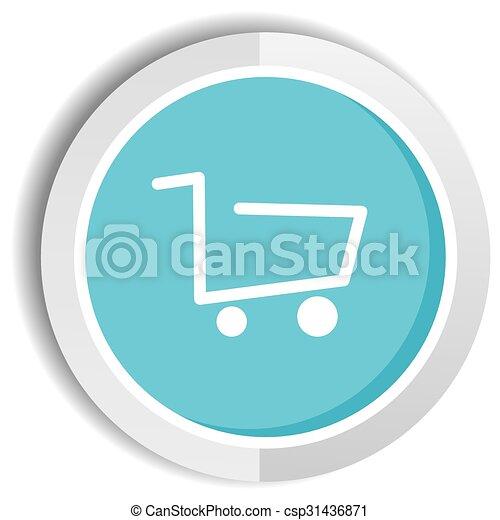 shop icon button - csp31436871
