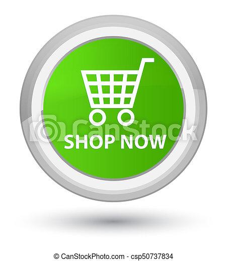 Shop now prime soft green round button - csp50737834