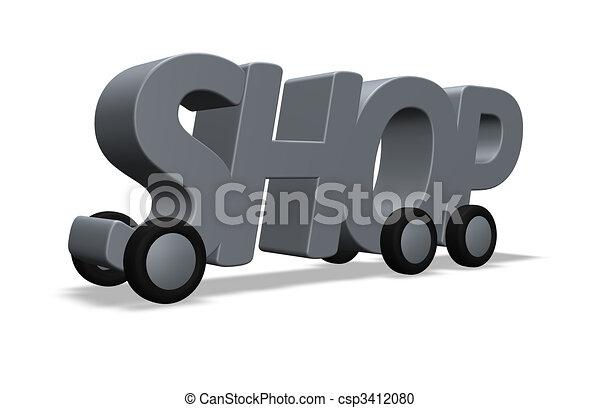 shop on wheels - csp3412080
