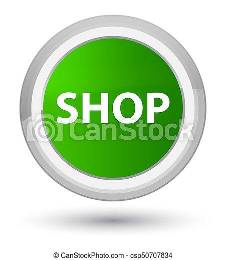 Shop prime green round button - csp50707834