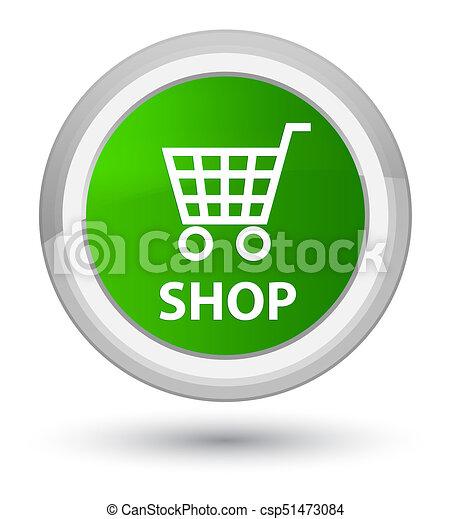 Shop prime green round button - csp51473084