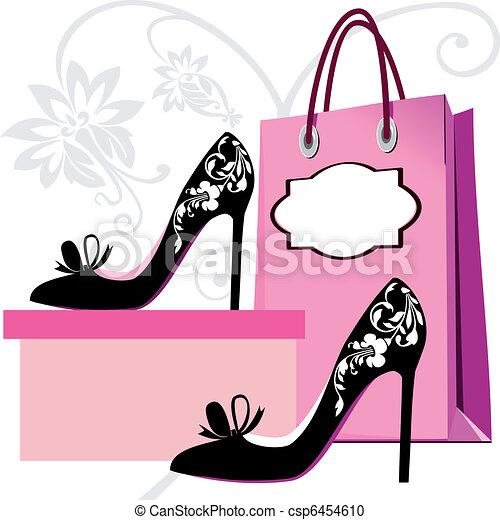 shoppen , achtergrond - csp6454610