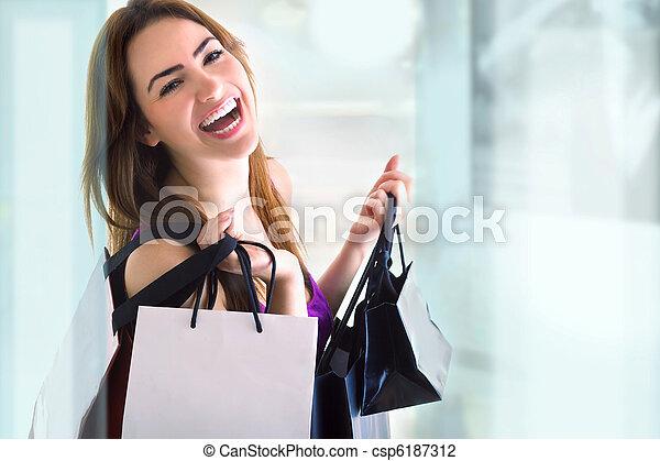 shopping - csp6187312