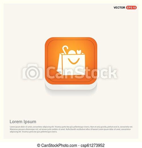 Shopping bag icon - csp61273952