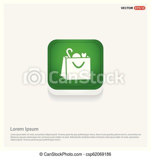 Shopping bag icon - csp62069186