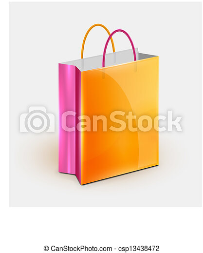 Shopping bag icon - csp13438472