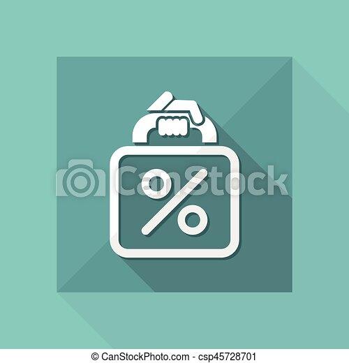 Shopping bag - csp45728701