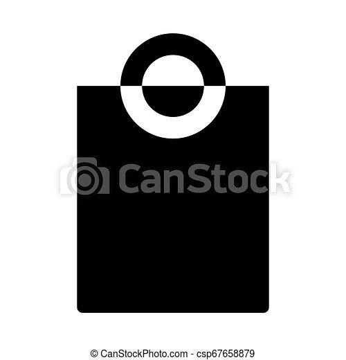 Shopping Bag Web Icon - msidiqf - csp67658879