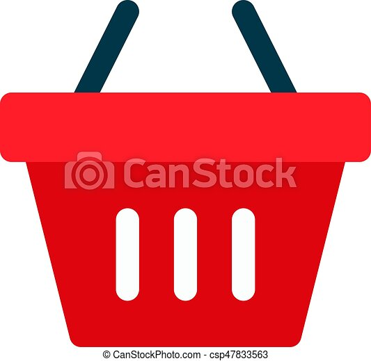 shopping basket - csp47833563