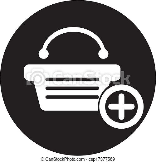 shopping basket - csp17377589