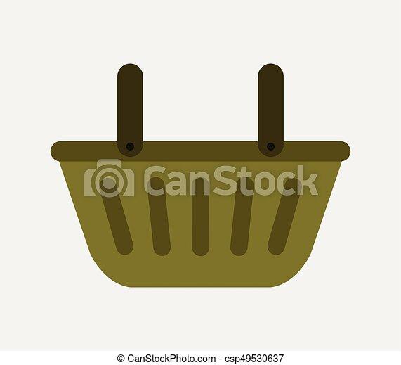 shopping basket - csp49530637