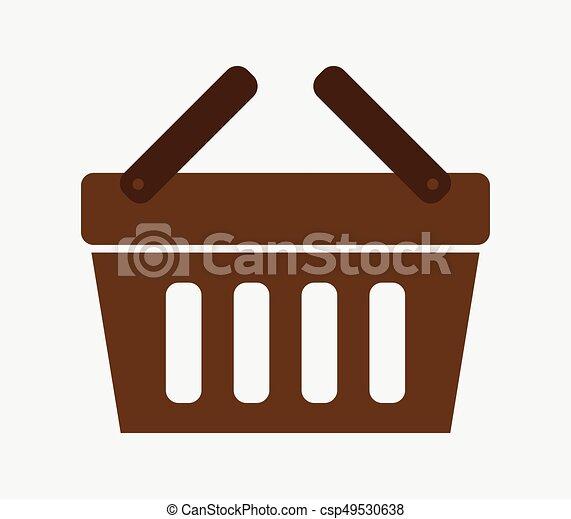 shopping basket - csp49530638