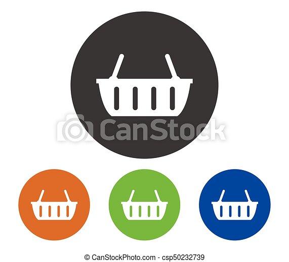 shopping basket - csp50232739