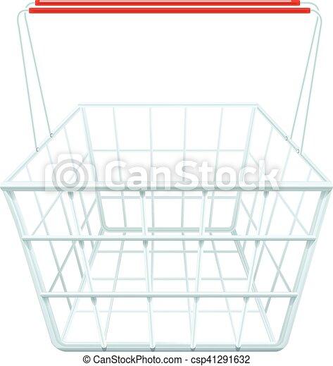 Shopping Basket Illustration - csp41291632