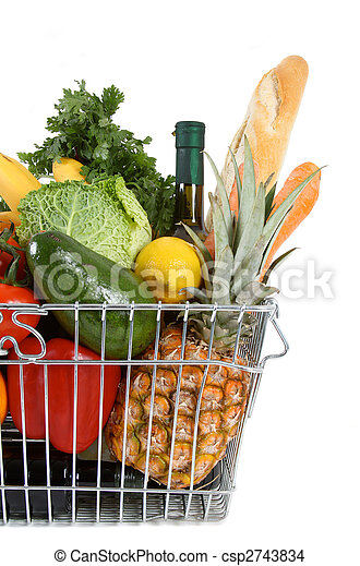 shopping basket - csp2743834