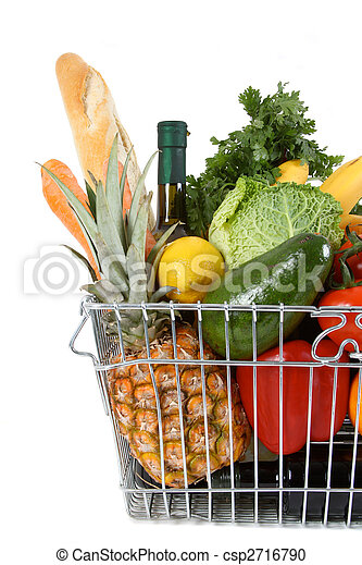 shopping basket - csp2716790