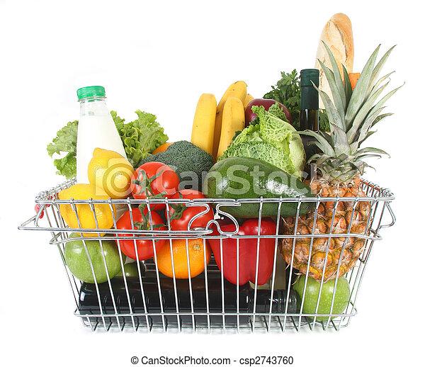 shopping basket - csp2743760