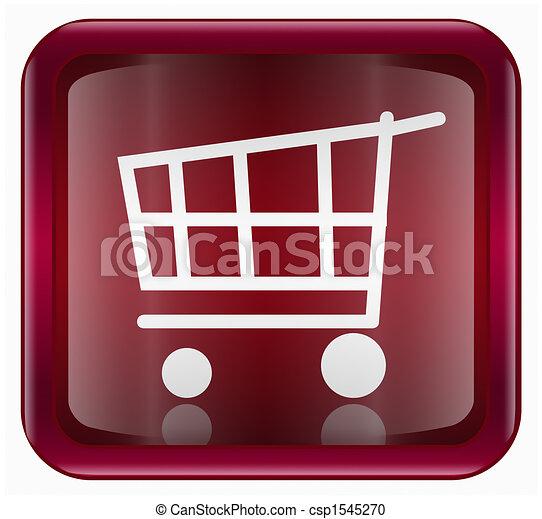 shopping cart button - csp1545270
