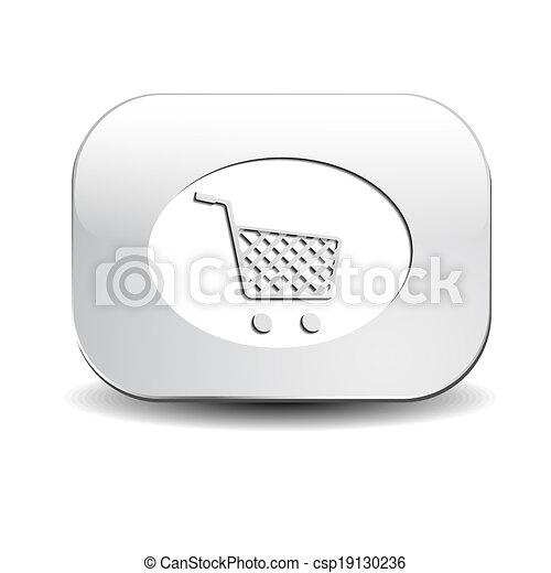 Shopping cart button - csp19130236