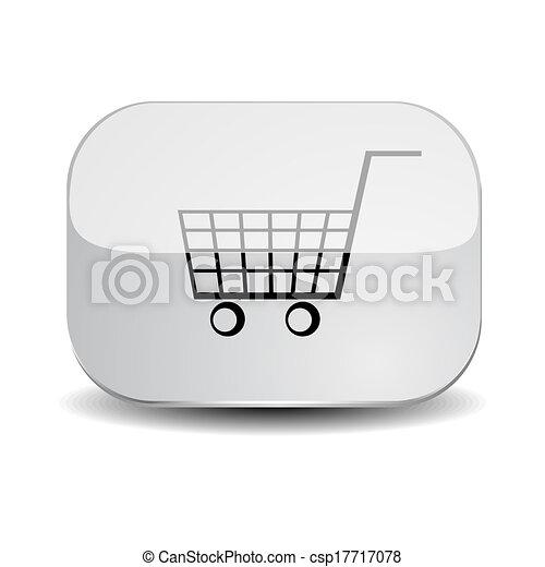 Shopping cart button - csp17717078