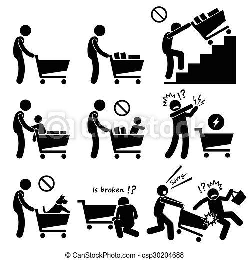 Shopping Cart Guide - csp30204688