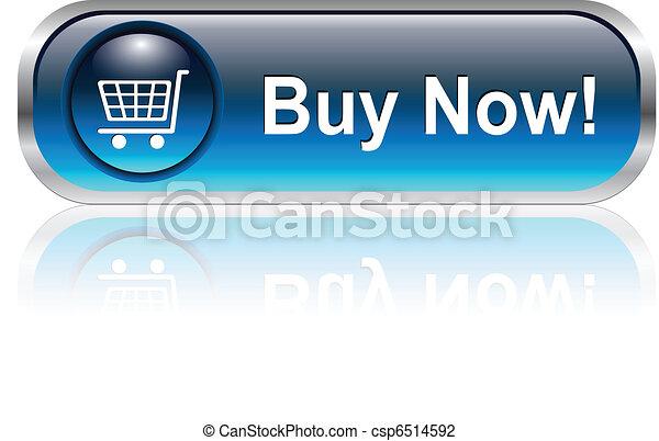 shopping cart icon, button - csp6514592