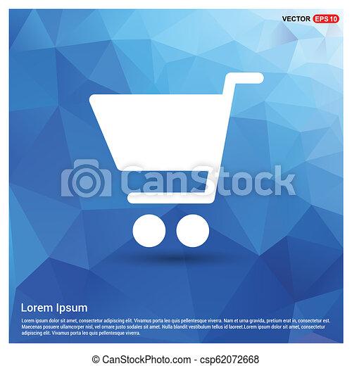 Shopping cart icon - csp62072668