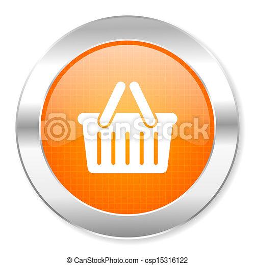 shopping cart icon - csp15316122