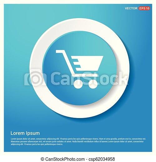 Shopping Cart icon - csp62034958