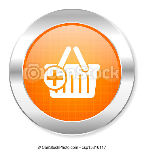 shopping cart icon - csp15316117