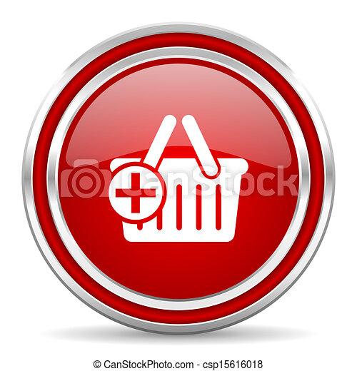 shopping cart icon - csp15616018