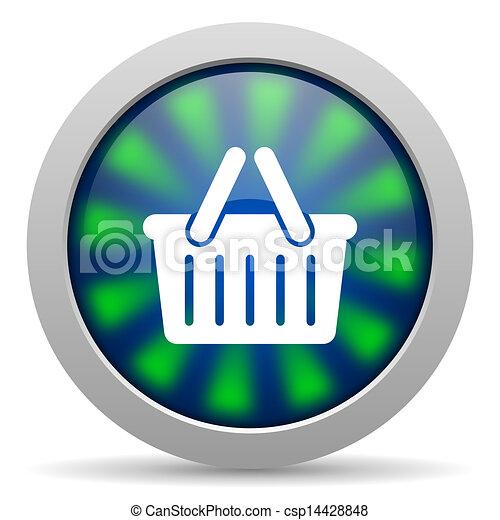 shopping cart icon - csp14428848
