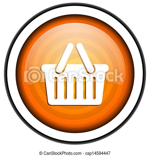 shopping cart icon - csp14594447